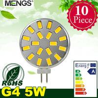 MENGS 10Pcs per pack G4 5W LED Light 18x 5730 SMD LEDs LED Lamp AC/DC 10-30V in Warm/ Cool White Energy-saving Lamp