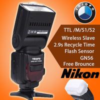 TRIOPO TR-586EX Wireless Flash TTL Speedlite For Nikon D750 D800 D600 D700 D610 D7100 D7000 as YONGNUO YN-568EX