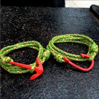 free shipping 2014 lovers bracelet miansai Italy red anchor and hook bracelet original manual bracelet for women men's bracelets