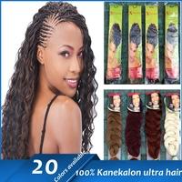 "100% kanekalon fashion synthetic hair x-pression ultra braid 82"" 210g X-pression Ultra Braid Hair Extension - 12 COLORS"