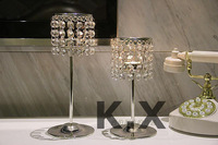 Cheap Price Factory Price Wedding Centerpiece Candle Holder Crystal Candlestick