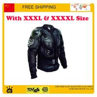 motorcycle fox armor motocross protector gear armor S M L XL XXL XXXL size body guard racing accessories free shipping