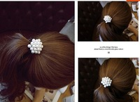 2014 New Free Shipping hairbands for woman / Girl / Lady High Elastic Hair Rope  Rabbit Hair Accessories