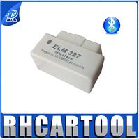 White ELM 327 Interface OBD2 / OBD II V1.5 Auto Wireless 327 White super mini elm327 bluetooth