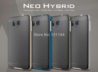 Galaxy Alpha Case Neo Hybrid, Genuine Spigen SGP Premium Stylish Web Pattern TPU Cover for Samsung Galaxy Alpha