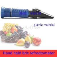 Sinotech Hand held 45 - 82% Brix Refractometer  P-RHB-82ATC Plastic material