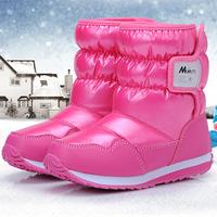 2104 kids snow boots China Top Brand children boots children winter shoes boys & girls boots waterproof slip-resistant ILTX5003