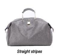 Ladies big bags Hot Women's Genuine leather stripes handbags first layer of genuine leather Shoulder bag messenger bags ladies