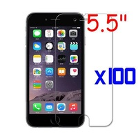 """For Apple iphone 6 PLUS 100 pcs/lot 5.5"""" HD LCD Ultra Screen Protector Cover Film"""