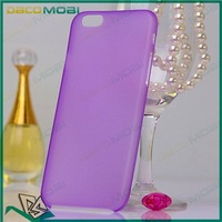 """For Apple iPhone 6 4.7"""" 0.3mm Ultra Slim Thin Soft TPU Matte Back Cover Case 10 Colors Choice 1000Pcs/Lot Free Shipping"""