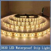 1set 5m 300 SMD 5630 LED Strip Light DC12V Super Bright Christmas Home Lighting IP65 Waterproof Flexible Light 60led/m