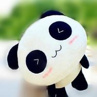 1pcs 20cm Giant Panda Pillow Mini Plush Toys Stuffed Animal Toy Doll Pillow Plush Bolster Pillow Doll Valentine's Day Gift Kids