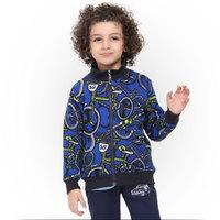 Free DHL/EMS +10sets/lot 2014 print bike bicycle jacket coat peppa pig boys clothing children's wear autumn winter sport outwear