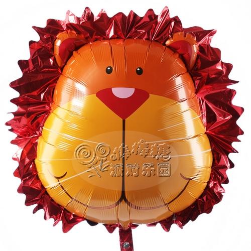 cabeça de leão de alumínio folha de alumínio fontes do partido do balão de aniversário infantil balão decoração aniversário(China (Mainland))