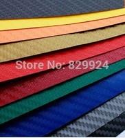 Free Shipping 100CM*127CM Car 3D Carbon Fiber Sticker/ Car Decoration Sticker/ Auto Accessories 11 colors