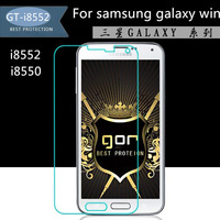 H9 HD 0.03mm toughened glass protective film H9 hd explosion-proof protective screen For samsung galaxy WIN I8552 I8550 case