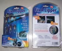 6pcs/pack Fix A Zipper Magic Zipper Fix Any Zipper Quickly Instant Zipper