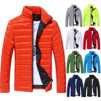 New 2014 Winter Jackets Fashion Warm Coat for Men Casual slim outdoors Coat men Jaqueta Masculina Casaco Masculino 9 COLORS