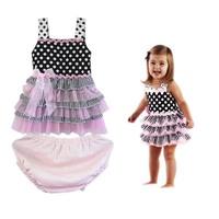 wholesale !new style ,fashion ,Hot sale Baby dress infant tutu dress lace pettiskirts dress 4 pcs/lot free shipping H074