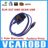 2014 Mult-language! Factory Direct! 2014 Newest 100% Vgate USB ELM327 OBD2 / OBDII ELM 327 V2.1