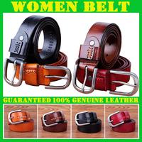 Women's Belts Women leather Belt Fashion wear rope belt for women Factory direct sales 100% Genuine leather