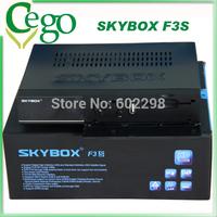 10pcs Original HD Satellite Receiver Skybox F3S HD full 1080p Support usb wifi youtube youporn receptor satellite digital hd