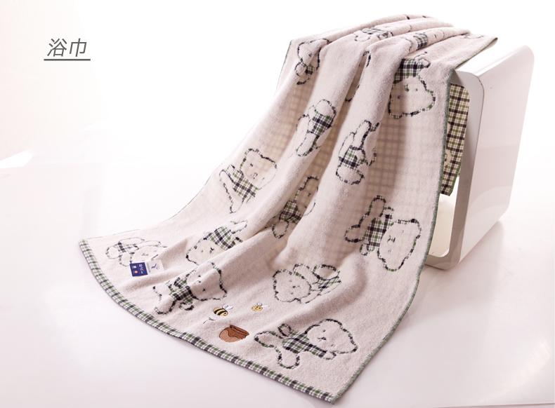 Kingshore brand cotton bath towels beach towel shower towels bath sheet soft and absorb 140 X 70cm 350g G3378(China (Mainland))