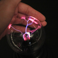 USB Plasma Ball Sphere Lightning Lamp Desktop Light Science Magic Crystal Party for chrismas indoor decorating lamp