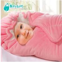 New Autumn Winter Newborn Swaddle Me Thickening Warm Comfortable Baby Sleeping Bag Adjustable Carters Fleece Baby Blanket