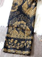 2014 Spring New Phoenix bohemian fringed cotton scarf shawl scarf B113