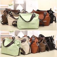 2014 Promotion Hot Sale PU Leather Shoulder Bags Special Design Lady Tote Bag Casual Vintage Women Messenger Bag AD0331