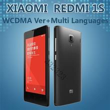 Original Xiaomi Red Rice 1S Mobile Phone 4.7″INCH Qualcomm Quad Core 8GB ROM 3G WCDMA Redmi Xiaomi Hongmi 1S Android Phone