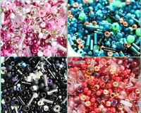 Seed Beads Mix,  10g -  18CHOOSE