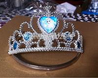Free shipping+2014 Frozen Elsa Crown Princess Anna Elsa Crown for Girls  20pcs/lot cosplay
