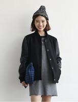 2014 winter autumn women personalized female sweatshirt baseball uniform sportswear fleece class wild jacket brand clothing