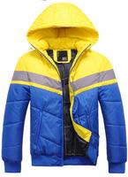 Men's Jacket Winter Overcoat Warm Padded Jacket Large Sizes 2014New Arrival Free Shipping Whole Sale