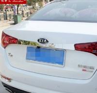 Chrome Rear Trunk Lid Cover Trim 1pcs 2011 2012 2013 2014 Kia K5 Optima