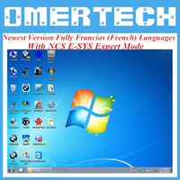 11.2014 Fully Francias (French) Languages ISID WIND 7 For BMW ICOM A2 /ICOM Native Software ISTA-D 3.45.40 & ISTA-P 54.03