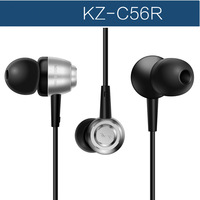 KZ-C56R ring balancing in ear earphones heatshrinked super-elevation full-range 3.5mm bass headphones