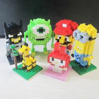 free Shipping loz blocks  models&building toys plastic children's educational building block sets  gift No.9165 220pcs