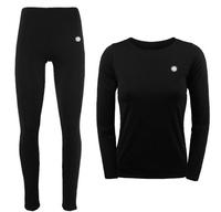 High Quality Cycling Ski Climbing Outdoor Sports Women's Top Bottoms Set Shirt Long Johns Wicking Quick Dry Thermal No Pilling
