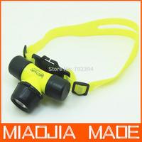 Q5 LED Diver Diving Waterproof Light Lamp headlamp flashlight 18650 battery or 3x AAA