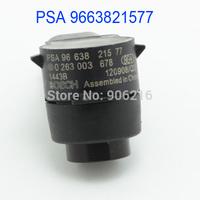 Free Shipping!!!Auto Parts PDC Parking Sensor For Peugeot 307 308 407 Partner For Citroen C5 C6 OEM PSA 9663821577 PSA9663821577