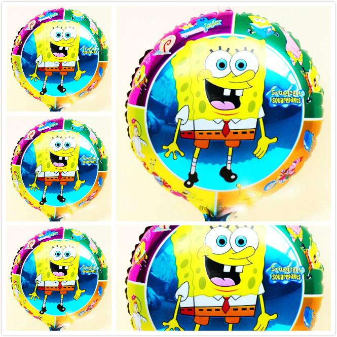 Festa do Bob Esponja - Decorações de Festa com Balões