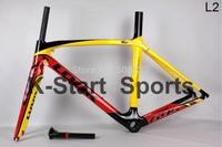 IN STOCK! high quality Low price super light DE ROSA 888 carbon fiber road bike frame Frame+Fork+Seatpost+Clamp+Headset