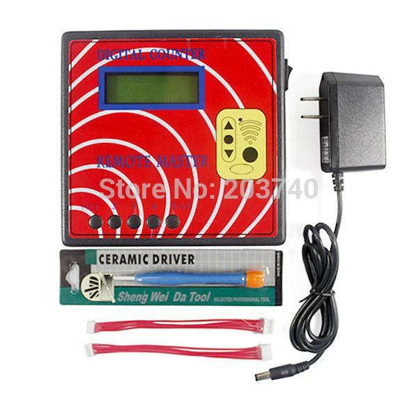 2014 DIGITAL COUNTER REMOTE MASTER 10 Generation frequency display, regenerate RF copy Auto tool,key programmer(China (Mainland))