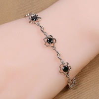B-0013,Bracelets for women from india silver plated pulseira bracelets bangles fashion jewelry loom bands one direction