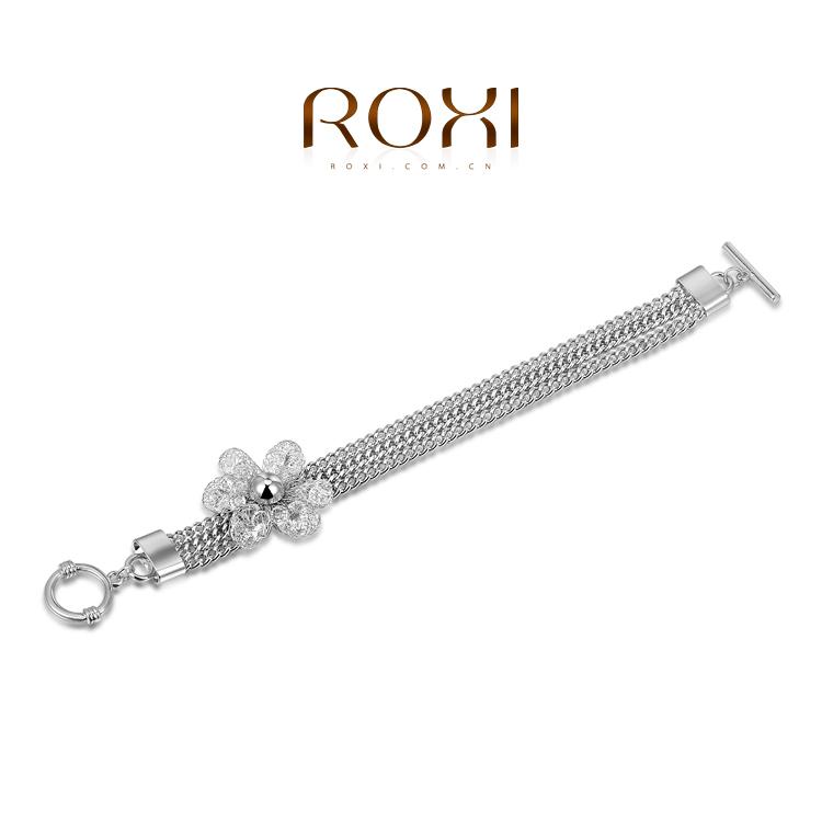 ROXI fashion women love bracelets gold plated women jewelry Austrian crystal wedding birthday Chrismas gifts party