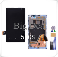 5PCS Free DHL/EMS Test Before For Nokia Lumia 1020 LCD Display +Digitizer Touch Screen With Frame Assembly With Free Tools