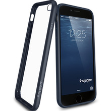 Spigen SGP Ultra Hybrid Transparent Case For iphone 6 4.7 inch Slim Clear Hard Back Panel Cover Retail SGS04344(China (Mainland))